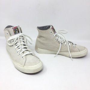 Vans Sk8-Hi Genuine Suede Lace-Up High-Top Sneaker